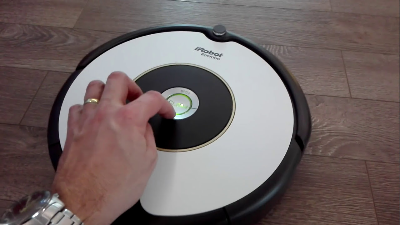 Irobot roomba 605 - YouTube