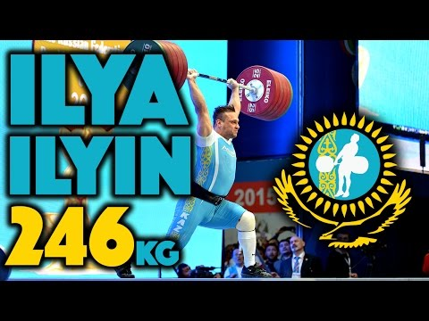 Ilya Ilyin (105) - 246kg Clean And Jerk World Record (4k)