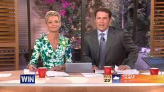 Today Show Australia Opener: Jessica Rowe's First Bulletin (30.1.2006)