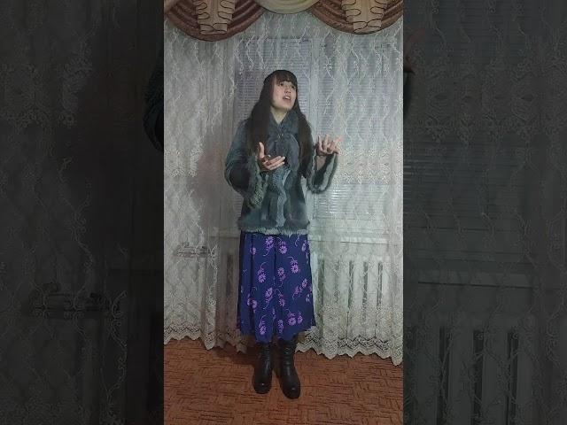 Изображение предпросмотра прочтения – СофияКасьяненко читает произведение «Песнь о собаке» С.А.Есенина