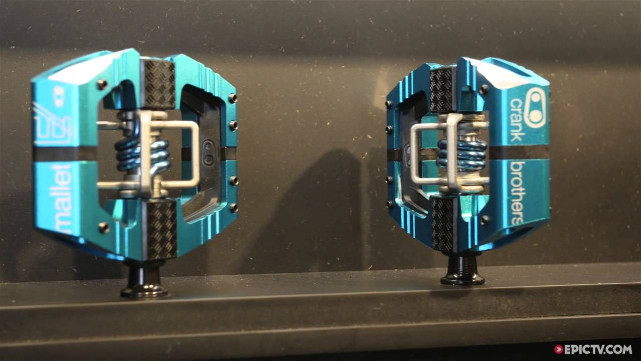 2016 Crankbrothers Mallet-E Pedals Preview | 2015 Eurobike