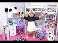 American Girl Doll Panda Bears And Llama Bedroom!