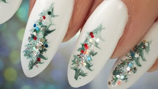 Christmas Tree Nail Art - Step by Step Tutorial