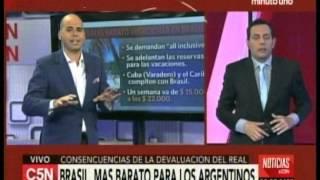 C5N - Economia: Brasil, mas barato para los argentinos