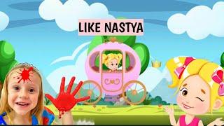Like Nastya - Nastya and Dad Dress up games, Nastya Run, Match 3 games | kids games
