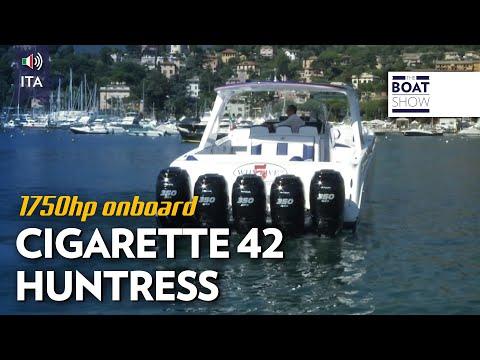 [ITA] CIGARETTE 42 HUNTRESS - Prova - The Boat Show