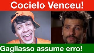 Bruno Gagliasso e Giovanna assumem erro e apagam posts! Cocielo venceu e cresceu!