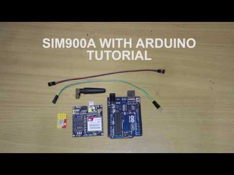 SIM900A with arduino tutorial. How to send and receive message