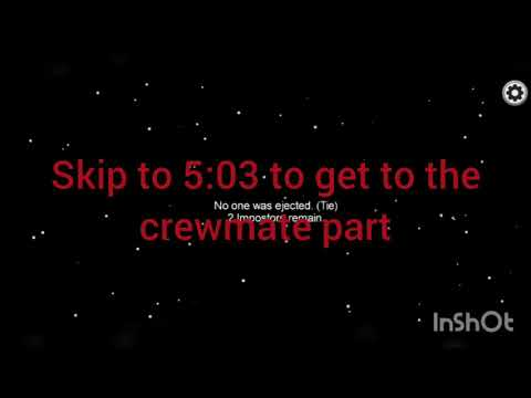 Among us how being a imposter or crewmate usually goes ...