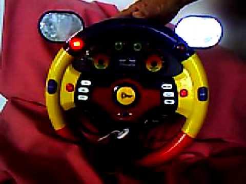 toy steering wheel youtube