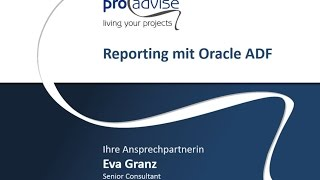 Reporting mit Oracle ADF