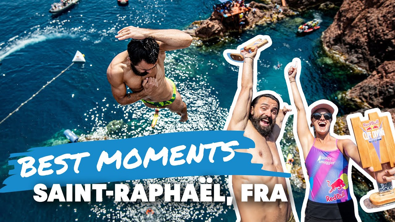 Download The Absolute Best Of Red Bull Cliff Diving Saint-Raphaël, France | 2021