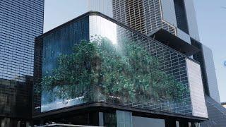 2020 서울미디어아트프로젝트 #1.Pivotal Tree( 당산나무 )