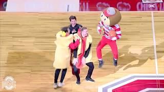 Hot Dog Half Court Buckets!