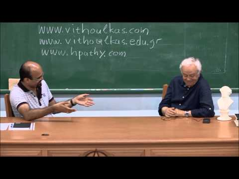 George Vithoulkas interviewed by Dr. Manish Bhatia - Part 1