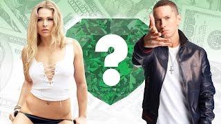 WHO'S RICHER? - Ronda Rousey or Eminem? - Net Worth Revealed!