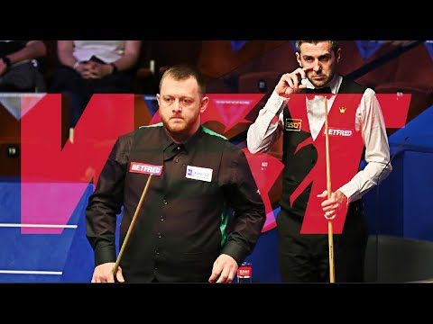 Mark SELBY Shot of the Championship Contender Arrives Unexpectedly |  World Championship
