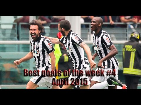 Best goals of the week  4 • April 2015 • HD