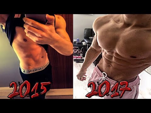 2.5 Years Natural Body Transformation (16-18) Billy Verguson