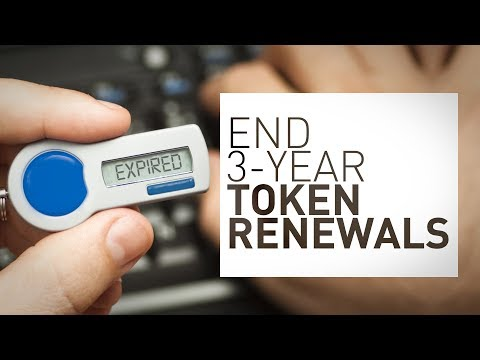 Eliminate 3-year Token Renewals with SafeNet Trusted Access - YouTube
