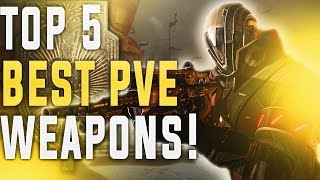Destiny Rise Of Iron. MY TOP 5 BEST LEGENDARY WEAPONS! (December 2016)