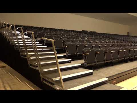 HUSSEY USA RETRACTABLE SEATING PREMIUM PROJECT INDIA BEAUTY