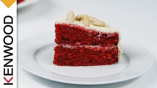 Red Velvet Cake | Kenwood Chef Sense | Recipes Thumbnail