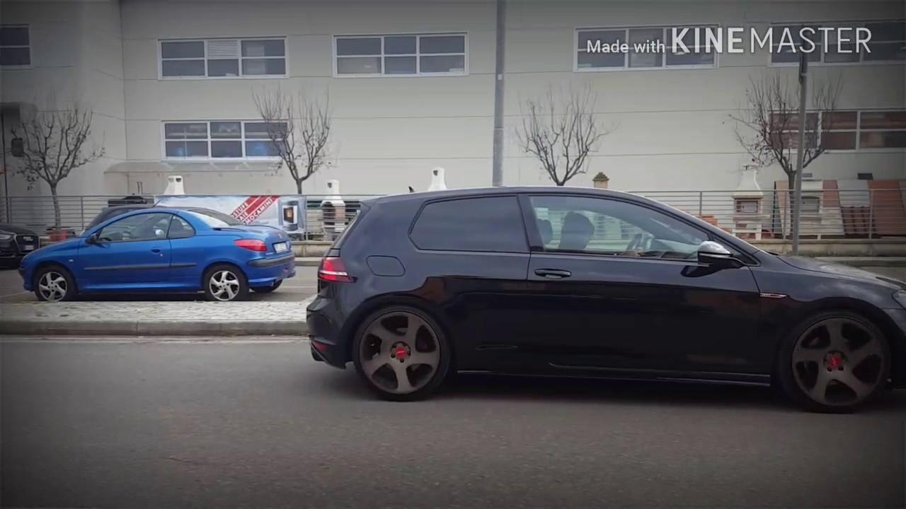 Mk7 Golf R >> Rotiform tmb bronze on GTI mk7 - YouTube