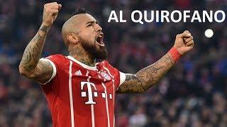 ¿Arturo Vidal es baja para jugar ante el Real Madrid?