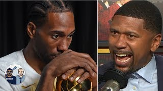 Jalen Rose warns Kawhi against joining the 'JV' Clippers | Jalen & Jacoby