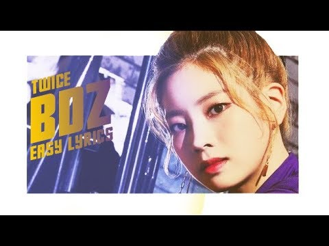 TWICE - BDZ[EASY LYRICS]