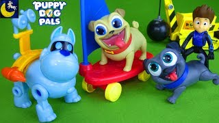 Puppy Dog Pals Toys Mission Present from Bob Secret Agent ARF Paw Patrol Funny Toy Stories For Kids