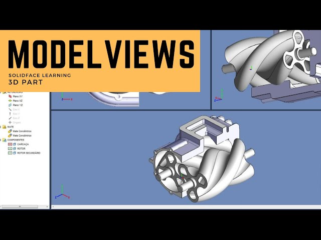 Learn how to use 3D Modeling Software - 30 - Model Views