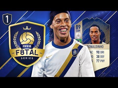 FIFA 18 F8TAL ICON RONALDINHO! #1 - HE'S SO GOOD! 😍🇧🇷