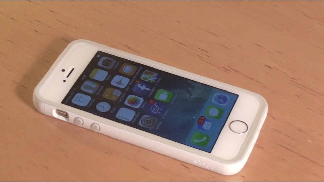 Iphone 5s Elago Bumper Case Unboxing And Review Youtube