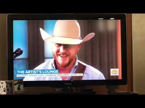 Cody Johnson performs on my way to you on the Today Show 1-16-19