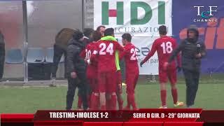 Serie D Girone D Trestina-Imolese 1-2 TeF Channel
