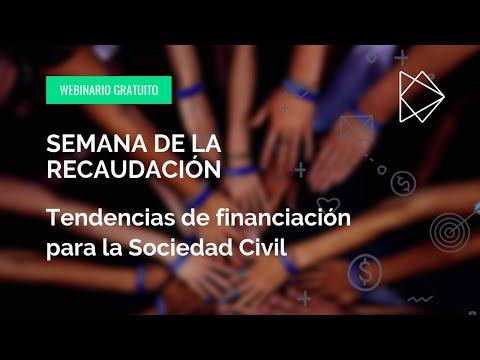 Semana de la Recaudación - Tendencias de financiación para la Sociedad Civil