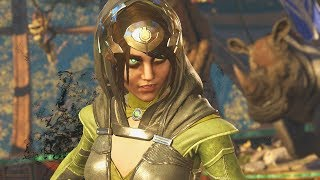 Injustice 2: Enchantress Vs All Characters | All Intro/Interaction Dialogues & Clash Quotes