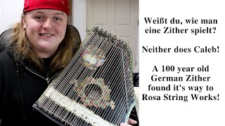 474 RSW A German Zither