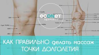 КАК ПРАВИЛЬНО делать массаж ТОЧКИ ДОЛГОЛЕТИЯ | econet ru