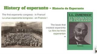Esperanto and alternative living