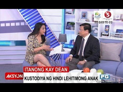 Itanong Kay Dean | Kustodiya ng illegitimate child