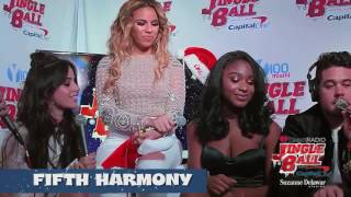 Fifth Harmony - Y100 Miami Jingle Ball (Last interview with Camila Cabello)
