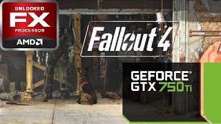 Fallout 4 GTX 750Ti Benchmark