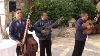 Puerto Vallarta Beach Wedding Cocktail Entertainment Trio Los Palomos
