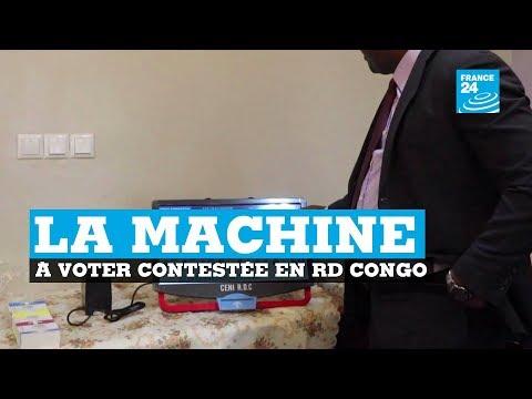 RD CONGO : La machine à voter contestée avant l'élection présidentielle