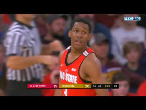 (NCAAM) #22 Ohio State Buckeyes at Minnesota Golden Gophers in 40 Minutes (1/20/18)