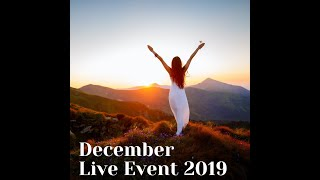 """4 Dec 2019 EWC Monthly Live Event, """"Reflect and Release"""""""