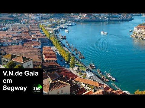 Vila Nova de Gaia em Segway